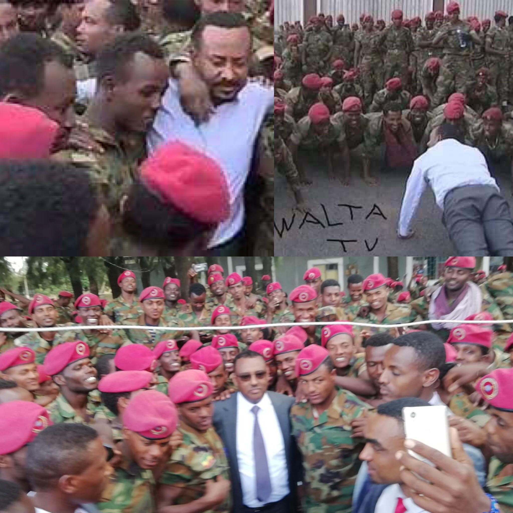 Protesting Ethiopian soldiers given jail terms /Ethiopian news today